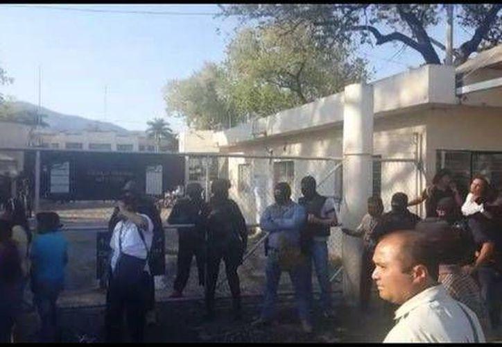 La Fuerza Tamaulipas tomó el control del penal de Cd. Victoria tras una bronca entre los reos. (Milenio)
