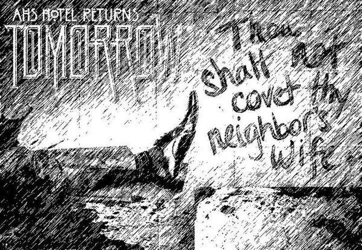 Cartel de la serie de televisión American Horror Story que esta semana llega a su fin de temporada. (Facebook)