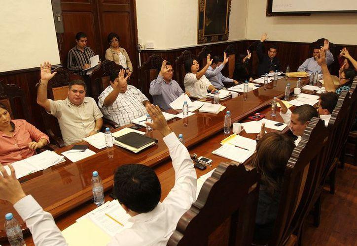 Aprueba el Cabildo convocatoria para adquisición de material para la Policía Municipal, con recursos del Subsemun. (Cortesía)