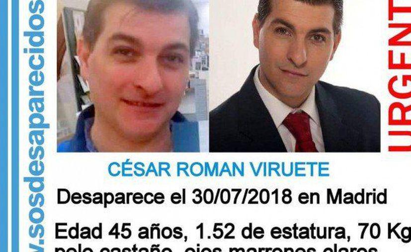 Román Virueta desapareció tras asesinar a su entonces novia, la hondureña Heidi Paz Bulnes. (Twitter @arp_zaragoza)