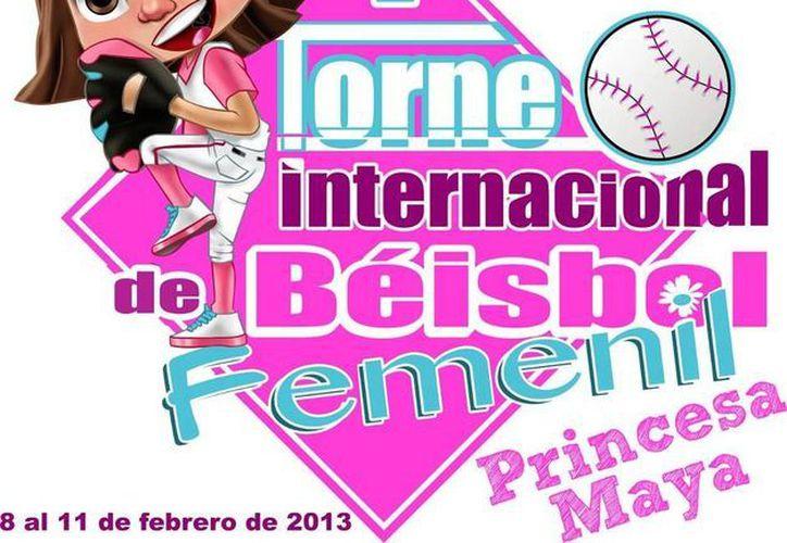 Todo listo para el encuentro. (Facebook/Copa Princesa Maya Béisbol Femenil)