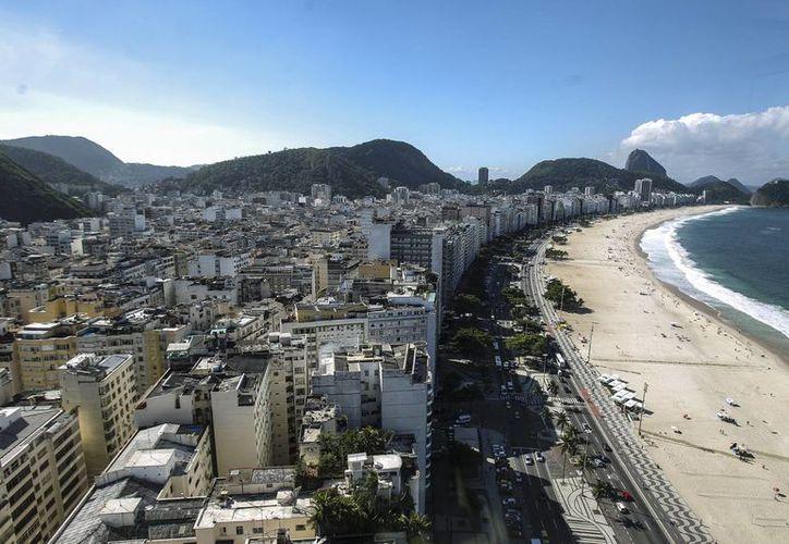 Fotografía panorámica de Río de Janeiro. El estado enfrenta una fuerte crisis económica en su gobierno. (Archivo/EFE)