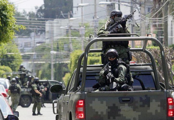 Elementos de la Sedena detuvieron en Matamoros a Ángel Eduardo Prado Rodríguez, acusado de ser el jefe del Cártel del Golfo en ese municipio fronterizo. (Archivo/Notimex)