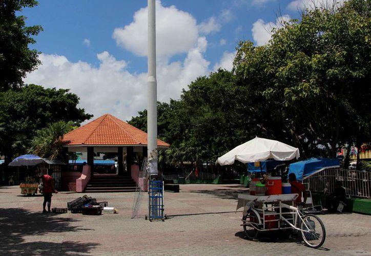 Cambiarán la imagen del parque la Corregidora. (Paola Chiomante/SIPSE)
