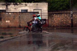 Mérida quedó bajo el agua