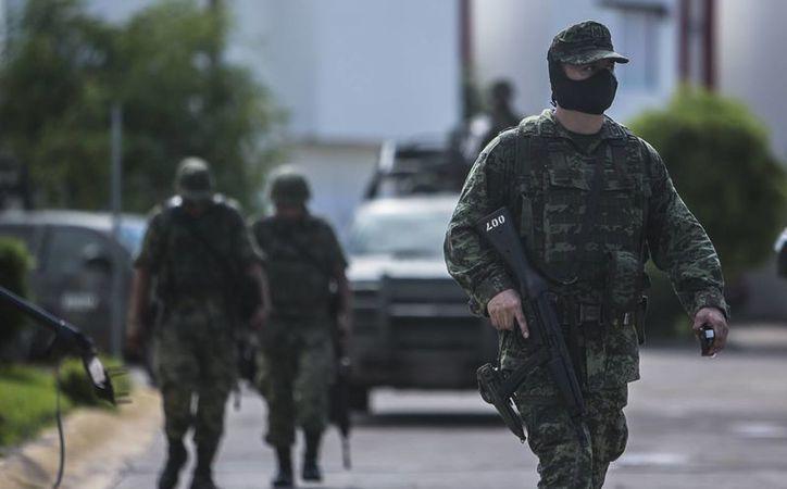 Los militares fallecieron en los 'dominios' del poderoso cártel de Sinaloa en un ataque poco habitual contra miembros del Ejército. (AP/Rashide Frias)