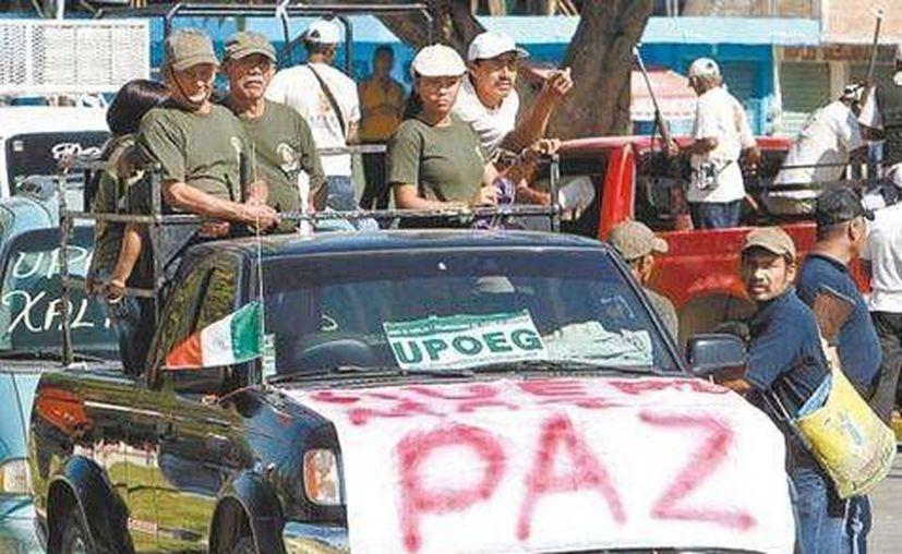 """La zona donde interviene la Upoeg (foto) es un """"foco rojo"""", comentó el alcalde de Chilpancingo, Mario Moreno Arcos. (Milenio/Contexto)"""