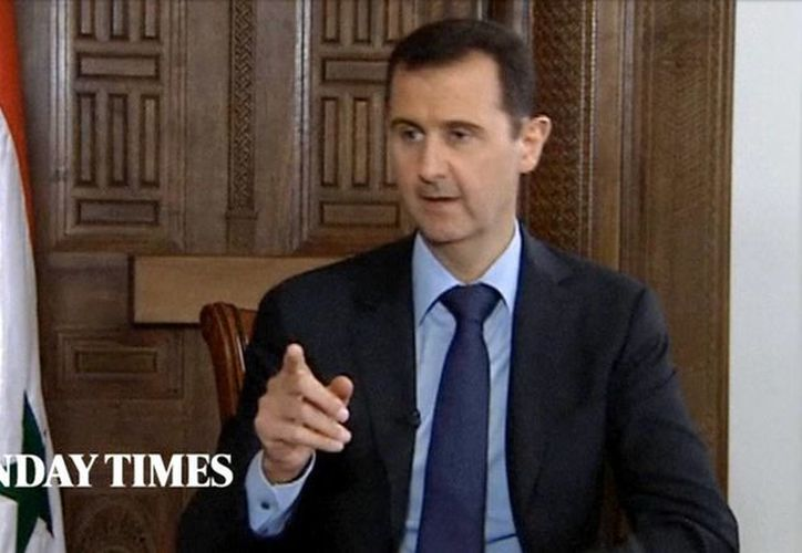 Assad afirmó que jamás dimitirá ni se irá al exilio. (Agencias)