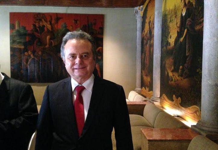 Pedro Joaquín Coldwell dijo que el estado energético de la Península de Yucatán es Campeche. (Milenio Novedades)
