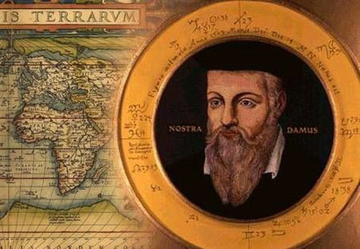 Michel de Nostre-Dame, más conocido como Nostradamus, hizo en el siglo XVI  una serie de profecías que publicó en un libro mundialmente famoso. (wikipedia)