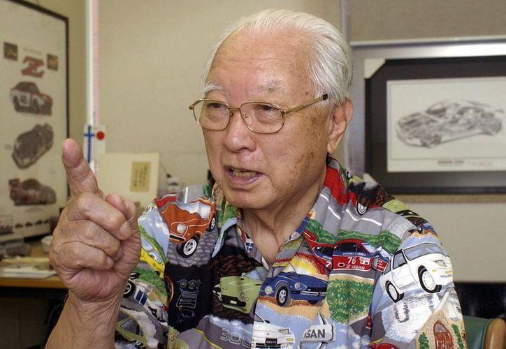 Imagen del 2002 donde se ve a Yutaka Katayama durante una entrevista en Tokio, Japón. (Agencias)
