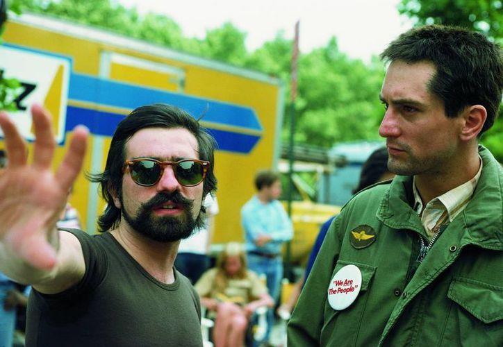 Martin Scorsese y Robert de Niro trabajarán junto en una misma película por novena ocasión. La gráfica corresponde a Taxi Driver, de 1976. (movienetworkpr.com)