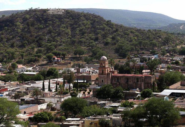 Temacapulín tiene dos siglos de antigüedad y su iglesia es una joya arquitectónica de la región. (EFE)