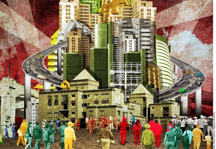 Ocho de cada 10 mexicanos viven en zonas urbanas y seis de cada 10 habita en una zona metropolitana. (Agencia Reforma)