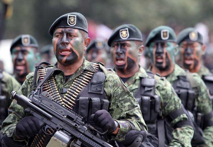 En México no es común que se acuse a un miembro del Ejército de algún ilícito. (Archivo/Notimex)