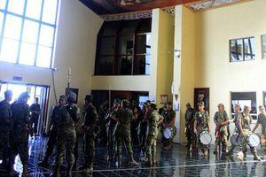 Militares toman edificios públicos de Chetumal