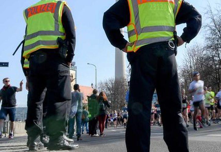 Para el medio maratón de Berlín estaban inscritos 36 mil atletas. (AP)