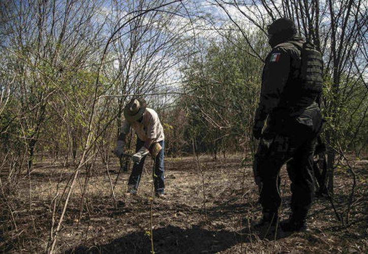 El crimen organizado desapareció personas con la complacencia de las autoridades locales, afirmó Jorge Winckler Ortiz. (Milenio)