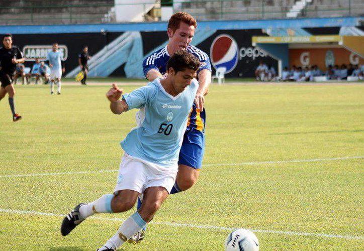 El delantero Martín Mex es el que más minutos ha visto en el torneo de liga. (SIPSE)