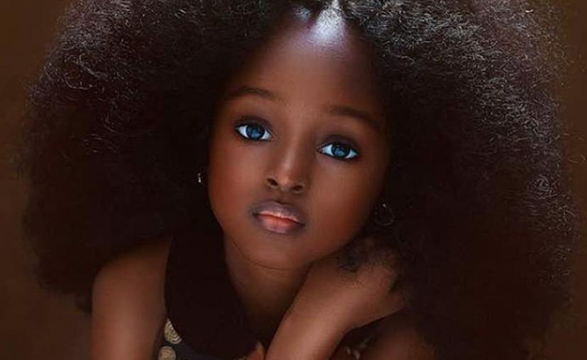 El fotógrafo Mofe Bamuyiwa compartió fotos de la pequeña Jare en su cuenta de Instagram. (Foto: the_j3_sisters)