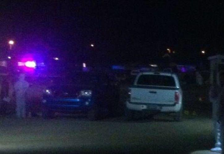 En el poblado Ojos Negros, municipio de Ensenada, Baja California, fueron asesinados a balazos tres adultos y un menor. (elvigia.net)