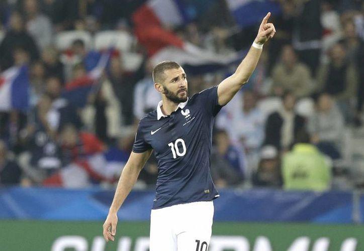 Karim Benzema no será convocado para jugar la Eurocopa 20016 en Francia. (Archivo AP)