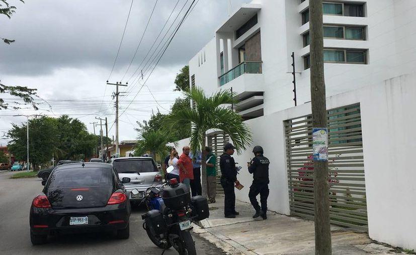 La policía constató que la familiar de la víctima no fue secuestrada. (Foto: Redacción/SIPSE)