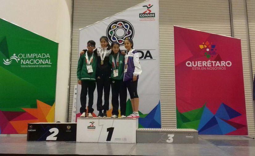 Dos yucatecos consiguieron medalla este sábado en la Olimpiada Nacional que se realiza en Querétaro. (Milenio Novedades)