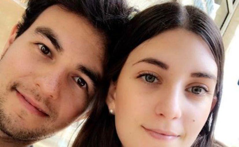La novia del 'Checo' Pérez anunció a través de una foto en Instagram su compromiso. (Instagram).