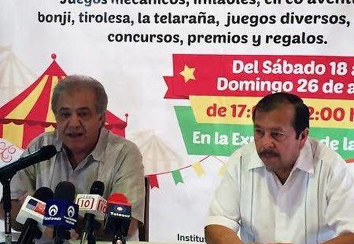 El dirigente del Instituto Promotor de Ferias dio a conocer detalles. (Milenio Novedades)