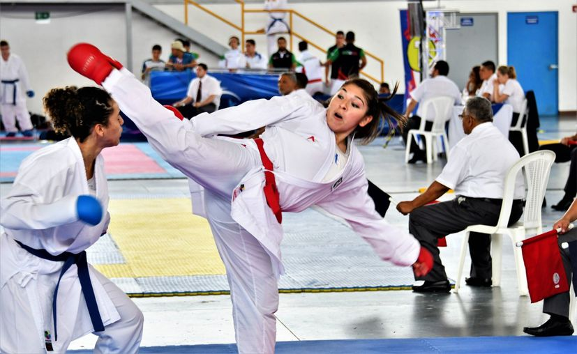 En la actualidad Guadalupe Quintal es la mejor karateka del estado. (Foto: Novedades Yucatán)