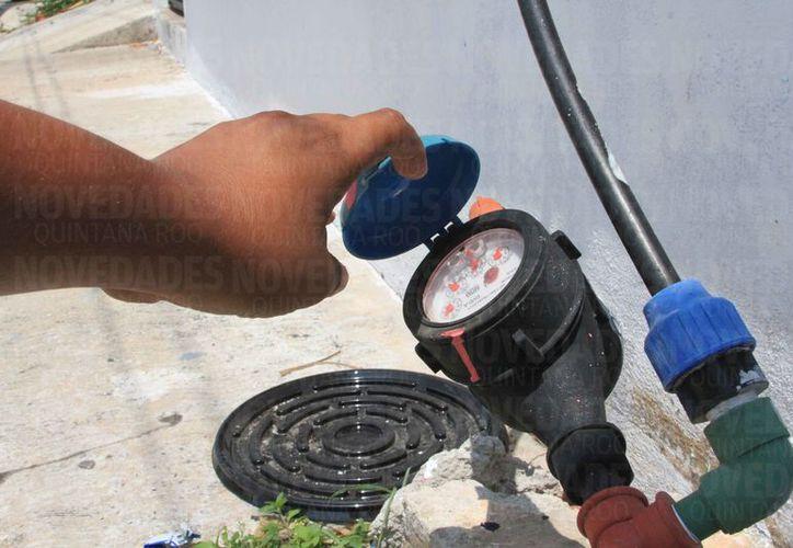 La CAPA anunció la condonación de multas y recargos a morosos del servicio doméstico de agua potable. (Joel Zamora/SIPSE)