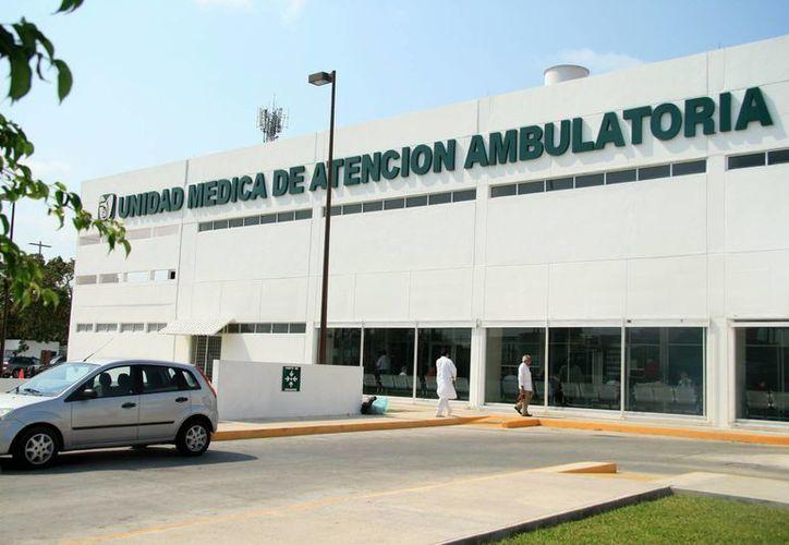 La Unidad Médica de Atención Ambulatoria ha sido calificada como una de las mejores en los últimos años. (SIPSE)