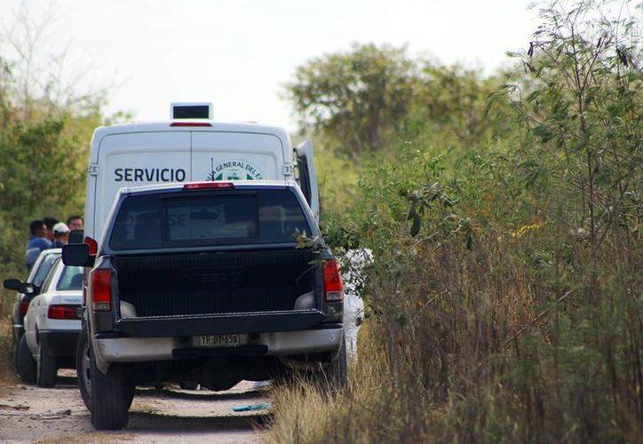Autoridades ya investigan sobre la muerte del joven oriundo de Flamboyanes. Sospechan de un homicidio. (A. Pallota/ SIPSE)