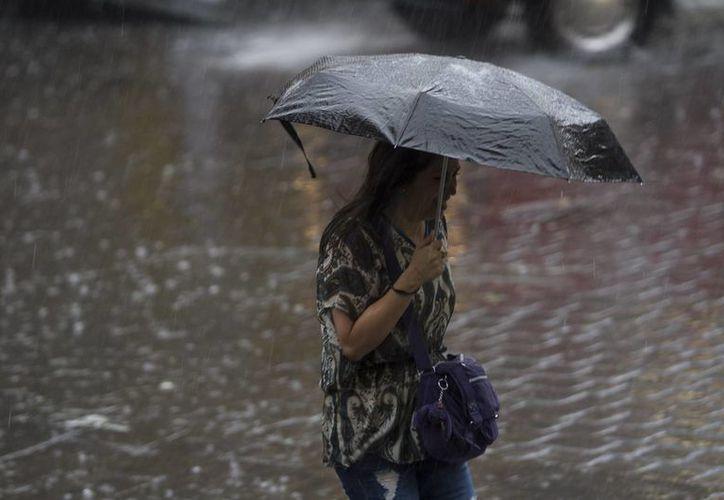 En los estados del litoral del Golfo de México se presenta una probabilidad de lluvias del 80% para este domingo. (Archivo/Notimex)