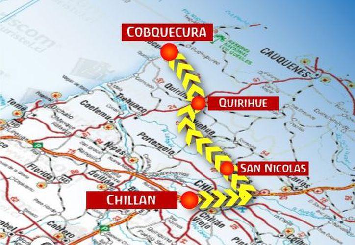 La serie de sismos en la costa chilena, frente a Cobquecura, no han reunido las condiciones para generar un tsunami. (www.rucamar.cl)