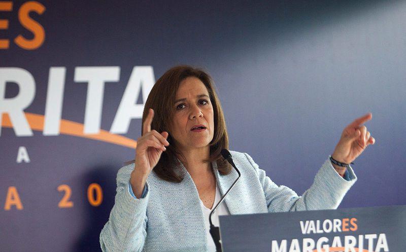 Margarita iba a ser la candidata que iniciaría el segunda debate presidencial, el próximo domingo. (Proceso)
