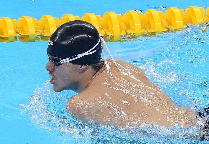 Gustavo  Sánchez clasificó a la final de 150m estilo combinado SM4 en natación, con un tiempo de 2:46.34, en Río 2016. (@CONADE)