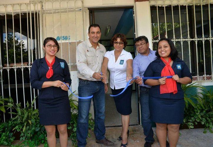 Se inauguró el Aula de Tutorías del Centro Regional de Educación Normal de Felipe Carrillo Puerto. (Redacción/SIPSE)