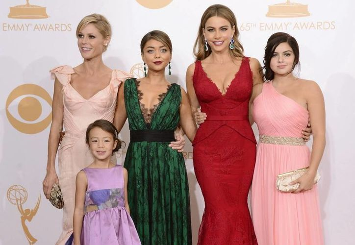 """Aunque la victoria de """"Modern Family"""" no fue sorpresiva, ninguno de sus actores, incluyendo Sofía Vergara, se ha llevado un trofeo a casa. (Agencias)"""