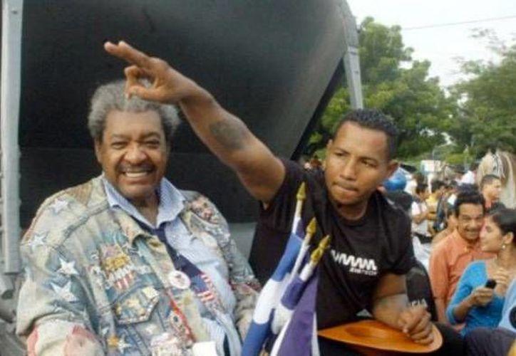 Don King quería quedarse con todas las utilidades de la pelea que disputaría el púgil nicaraguense. (Foto: El Nuevo Diario)