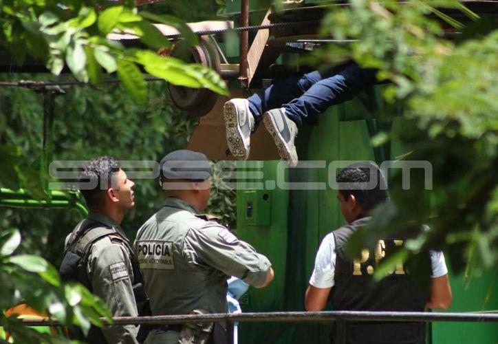El trabajador del teleférico falleció mientras realizaba la limpieza del mismo. (Foto: Jorge Pallota/SIPSE)