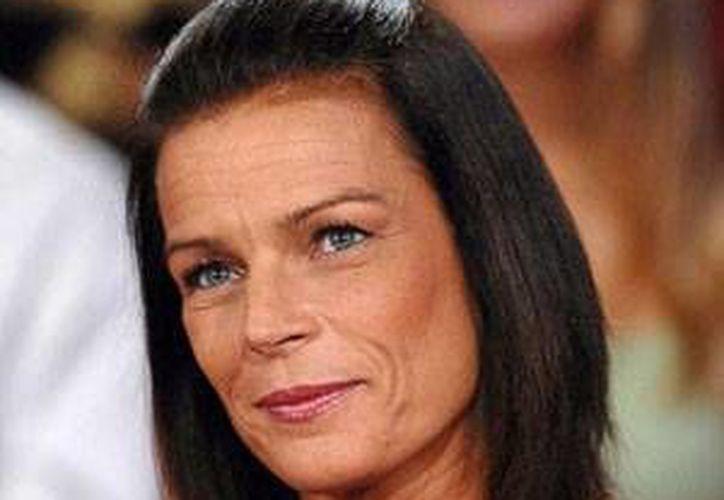 Estefanía María Isabel Grimaldi nació el 1 de febrero de 1965 en Mónaco, Francia.  (mediamass.ne)