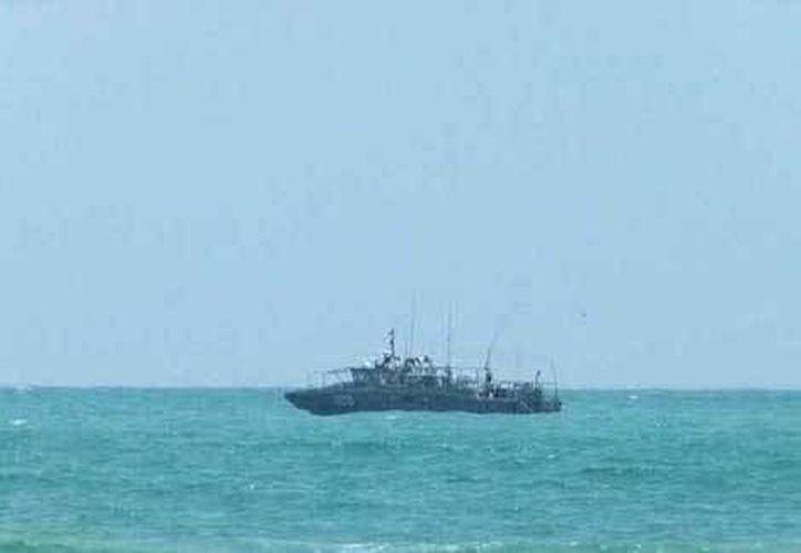 'El Dany' fue detenido por el Ejército en una embarcación a tres millas náuticas de Isla Mujeres, cerca de Cancún. (Foto contexto/Internet)