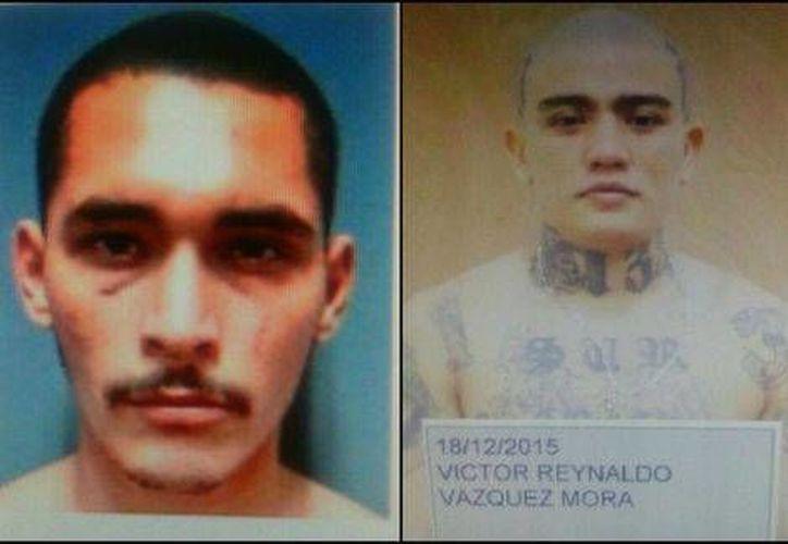 Los reos recapturados son Jesús Laureano Cortez Cautiño y Víctor Reynaldo Vázquez Mora. (Milenio Digital)