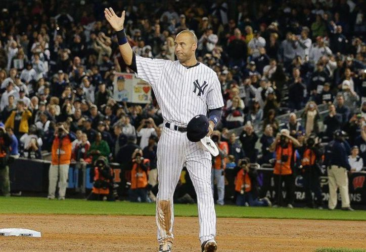 Este fin de semana es la despedida de Derek Jeter de las Grandes Ligas del Béisbol. (AP)