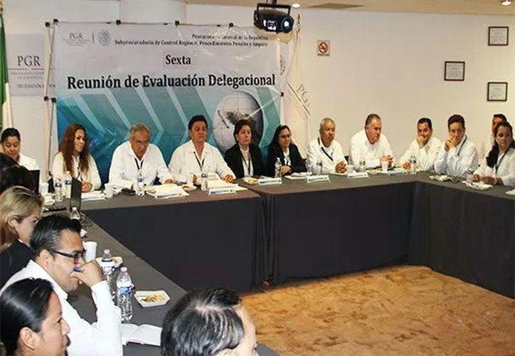 Destacan avance que la Delegación Yucatán ha tenido en materia de procuración de justicia. (Milenio Novedades)