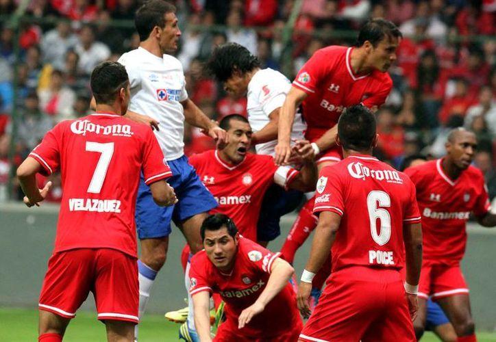 Toluca ha ganado siete de sus 10 campeonatos desde que se instauraron los torneos cortos en México en 1996. (Archivo Notimex)
