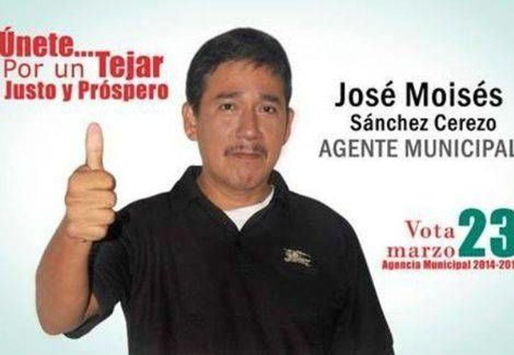 Moisés Sánchez Cerezo buscaba ser agente municipal de El Tejar. (Milenio)