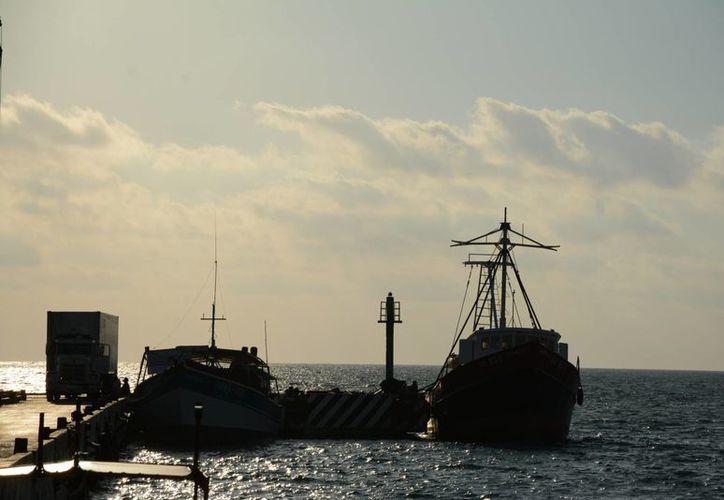 """El """"barco de historias"""", como lo llama el capitán, aún aguanta unos viajes más. (Victoria González/SIPSE)"""